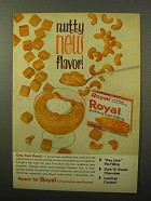 1964 Royal Carmel Nut Pudding & Pie Filling Ad - Nutty