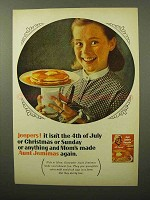 1964 Aunt Jemima Pancake Mix Ad - Jeepers!
