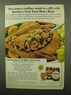 1964 Borden's None Such Mince Meat Ad - Stuffing