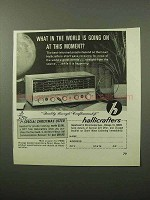 1964 Hallicrafters S-120 Short Wave / AM Receiver Ad