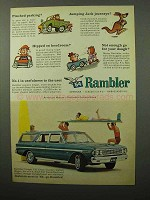 1964 Rambler Classic 770 Cross Country Station Wagon Ad