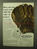 1964 New York Life Insurance Ad - Value of Money