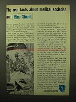 1964 Blue Shield Ad - Facts About Medical Societies
