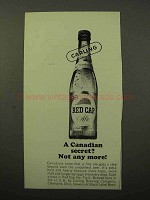 1964 Carling Red Cap Ale Ad - A Canadian Secret?