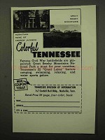 1964 Tennessee Tourism Ad - Hermitage Home Jackson