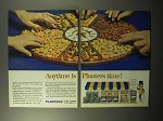 1964 Planters Nuts Ad - Anytime is Planters Time
