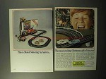 1964 Aurora Model Motoring Toy Ad - Christmas Gift
