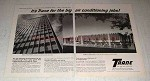 1964 2pg Trane Air Conditioning Ad - For the Big Jobs