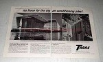 1964 2-pg Trane Air Conditioning Ad - For the Big Jobs