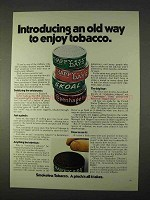 1971 Skoal, Happy Days and Copenhagen Tobacco Ad