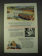 1943 Westinghouse Ad - Power for a Nation at War