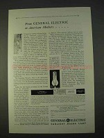 1930 General Electric Sunlight Mazda Lamp Ad - Mothers
