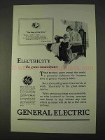 1926 General Electric Ad - The Great Emancipator