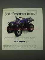 1995 Polaris Magnum 4x4 ATV Ad - Son of Monster Truck