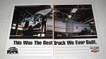 1995 Chevrolet Truck Ad - Best We Ever Built