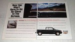1995 Chevrolet S-Series Extended Cap Pickup Truck Ad