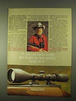 1994 Simmons Whitetail Classic Scope Ad - Jump on It
