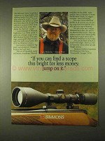 1994 Simmon Whitetail Classic Scope Ad - Jump on It