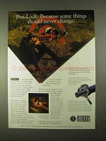 1994 Burri Posi-Lock Ad - Some Things Never Change