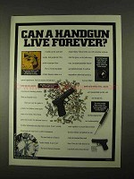 1994 Glock 17 Pistol Ad - Can a Handgun Live Forever?