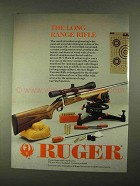 1994 Ruger Varmint Rifle Ad - The Long Range Rifle