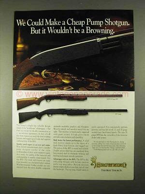 1994 Browning 28 Gauge BPS and BPS Stalker Shotguns Ad