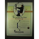 1994 Browning Micro Midas Bow Ad - Thinks it's Grown-up
