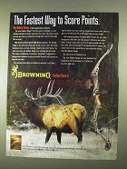 1994 Browning Ballistic Mirage Bow Ad - Score Points