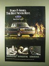 1994 Ford F-Series Pickup Truck Ad - Best Never Rest