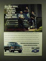 1994 Chevrolet Full-Size Pickup Truck Ad - Number 1