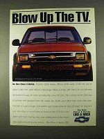1994 Chevrolet S-Series ZR2 Truck Ad - Blow Up The TV