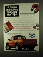1994 Chevrolet S-10 Pickup Truck Ad - Just Won't Quit