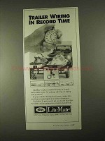 1994 Hoppy LiteMate Trailer Wiring Ad - Record Time
