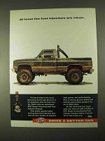 1994 STP Fuel Injector Cleaner Ad - Clean