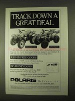 1994 Polaris Magnum 4x4 and Sportsman ATV Ad