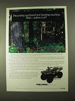 1994 Polaris Sportsman 4x4 ATV Ad - Hunting Machine