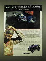 1994 Polaris 2x4 300 ATV Ad - Mud-Eating Grin