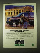 1994 Kelly Tires Safari Radials Ad - Drive To Work