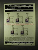 1994 Castrol Super Clean Advertisement - Just Advertisementd Water