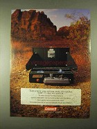 1994 Coleman Gas Stove Ad - Now It Has No Match
