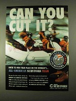 1994 Herman Survivors Boots Ad - Can You Cut It?