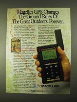 1994 Magellan GPS Trailblazer Ad - The Ground Rules