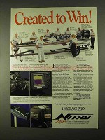 1994 Bass Nitro Boat Ad - Created to Win