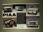 1994 PIAA Professional Halogen Lamp Systems Ad