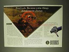 1994 Burris Posi-Lock Ad - Some Things Never Change