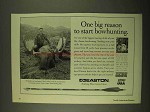 1994 Easton Sup Slam Hunting Shaft Ad - Bowhunting