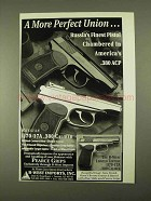 1994 Russian IJ70-17A Pistol Ad - More Perfect Union