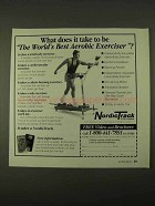 1994 NordicTrack Aerobic Exerciser Ad
