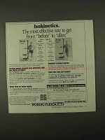 1994 NordicTrack Gold Pro Exercise Machine Ad