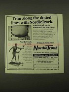 1994 NordicTrack Exercise Machine Ad - Trim Along Lines